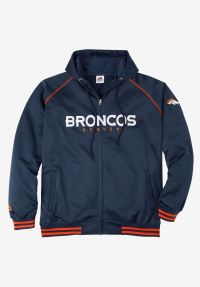 NFL Full Zip Hoodie | Plus Size Hoodies & Sweatshirts ...
