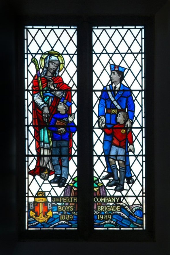 3rd Perth Boys' Brigade Centenary window