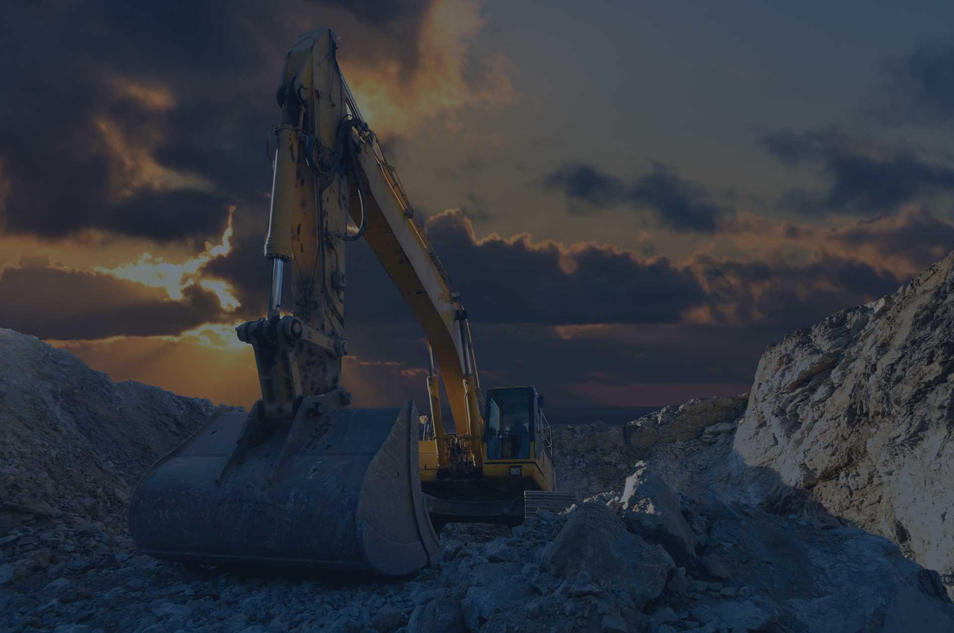 petroleum-core-excavator-quarry