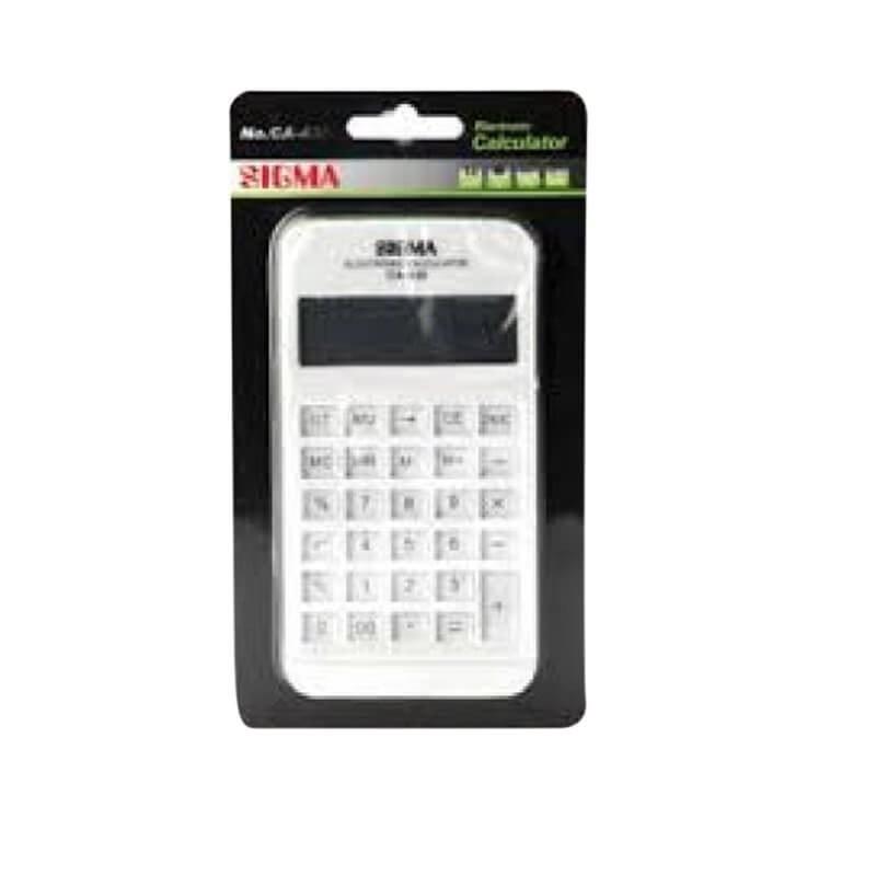 Sigma Electronic Calculator Ca-430 1 Pcs