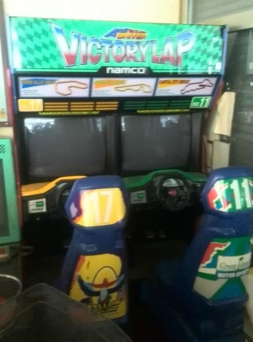 Old abandoned arcade