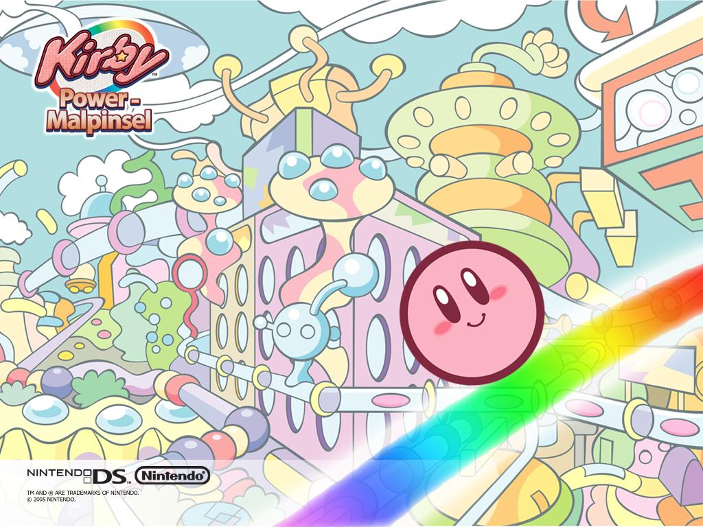 Super Super Cute Wallpapers Kirby S Rainbow Resort