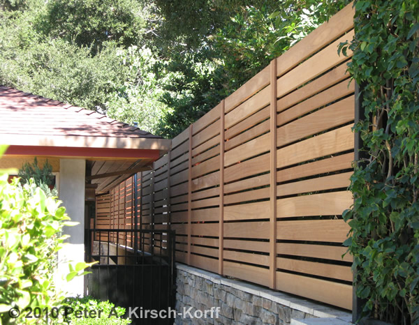 Los Angeles Wood Fences & Privacy Screening - Beautiful Fencing