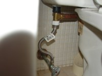 Toilet Water Hammer