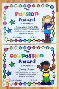 Character traits awards reinforce student's inherent traits! These multicultural student awards provide a variety of character traits and will have a lasting impact on students!