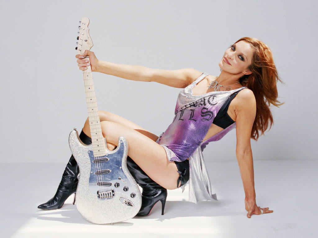 Beautiful Girl With Guitar Hd Wallpapers Pussycat Dolls Sexy Wallpaper Images