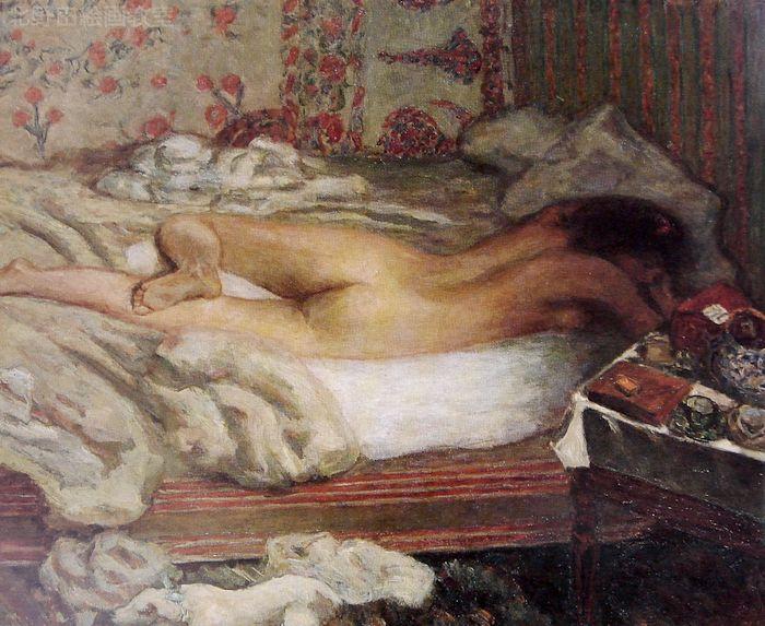午睡1900年ボナール