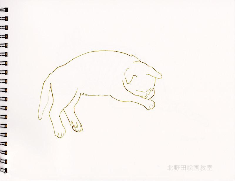 小太郎のペン画2