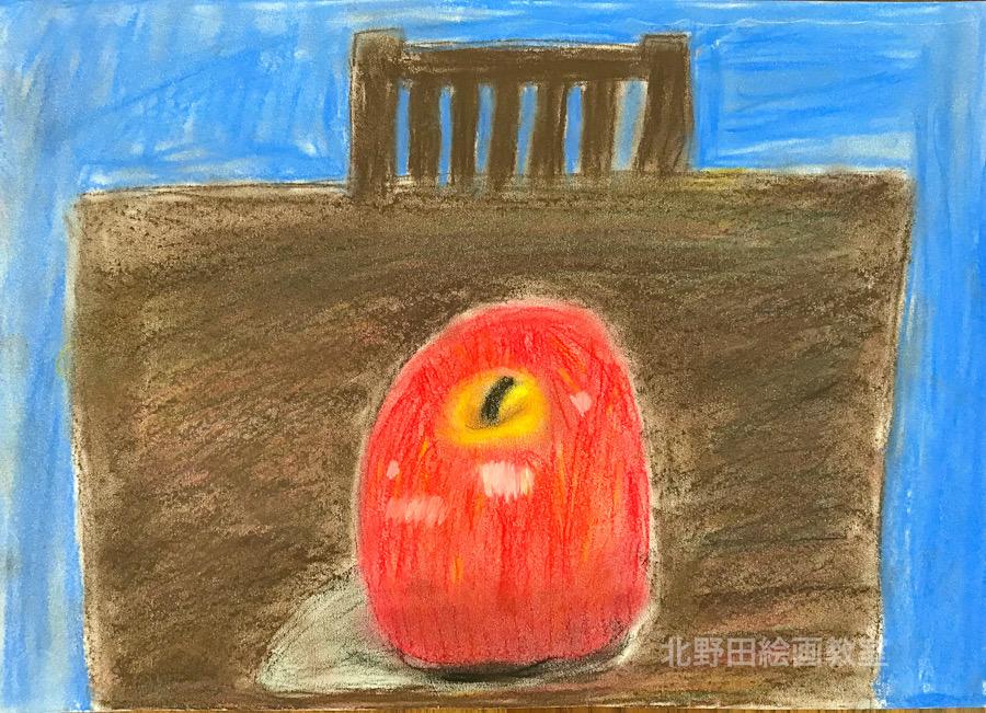 パステル画 ご体験者様 小学4年生女子 2019 年11月30日