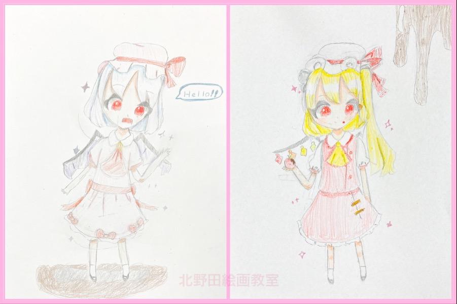 アンちゃん(小学5年生)色鉛筆画・A4サイズ