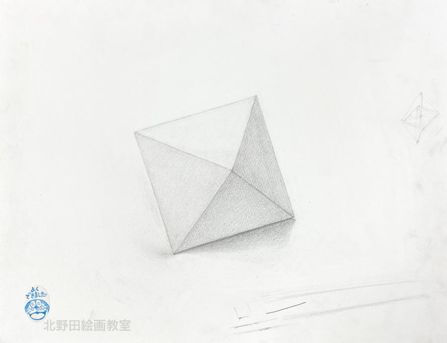 みふちゃん(大学1年生)鉛筆デッサン