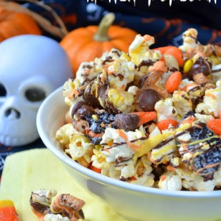Mega Monster Munch Popcorn {Ghoulish Grub}