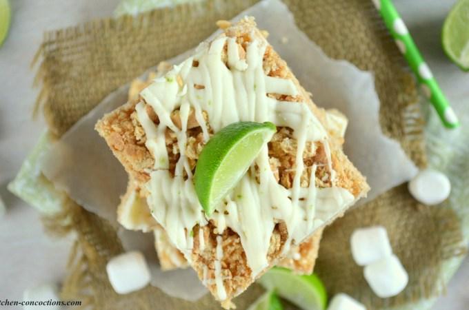 Key Lime Pie Rice Krispie Treats