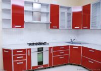 Pictures of Kitchens - Modern - Red Kitchen Cabinets (Page 2)