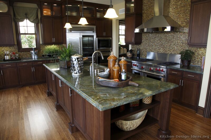Kitchen Countertops Ideas \ Photos - Granite, Quartz, Laminate - kitchen granite ideas