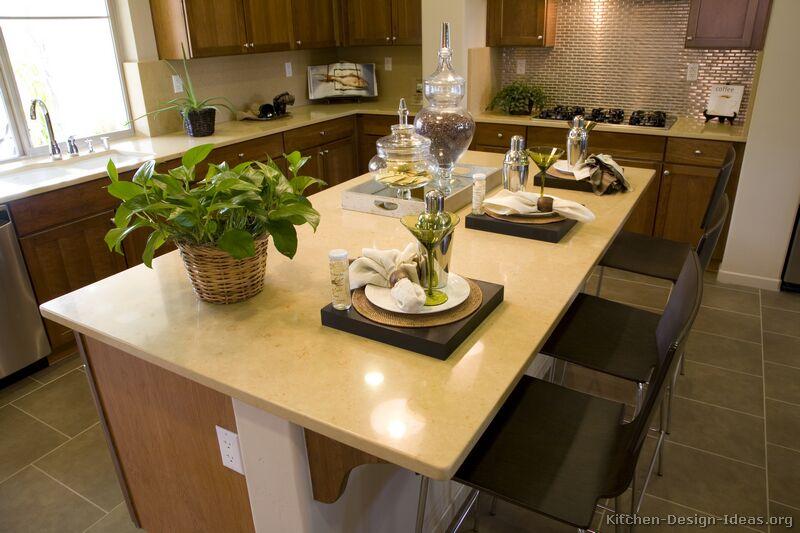 Kitchen Countertops Ideas \ Photos - Granite, Quartz, Laminate - kitchen countertop ideas