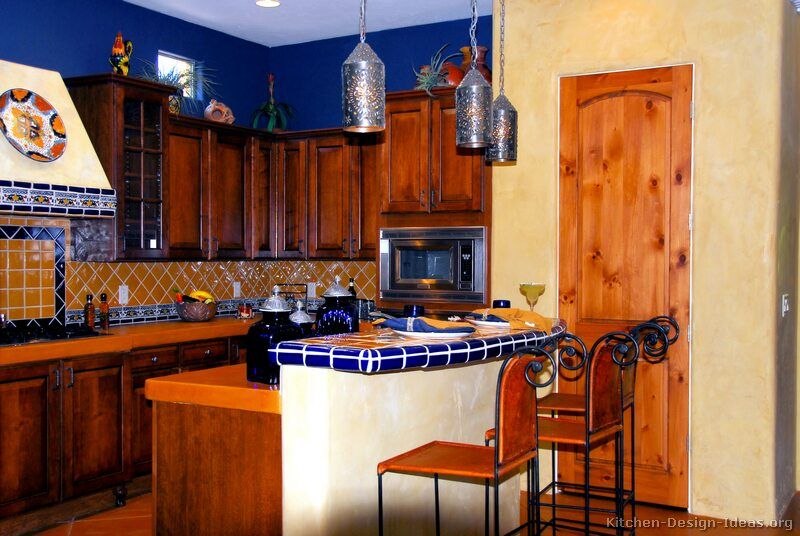 Mexican Kitchen Design - Pictures and Decorating Ideas - mexican kitchen design