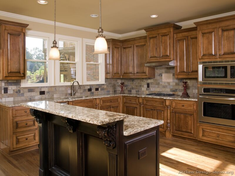 Pictures Of Kitchens - Traditional - Two-Tone Kitchen Cabinets