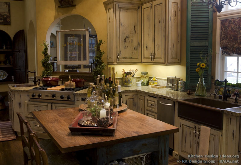 French Country Kitchens - Photo Gallery and Design Ideas - french kitchen design