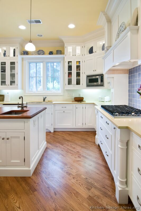 Pictures of Kitchens - Traditional - White Kitchen Cabinets - white kitchen cabinets