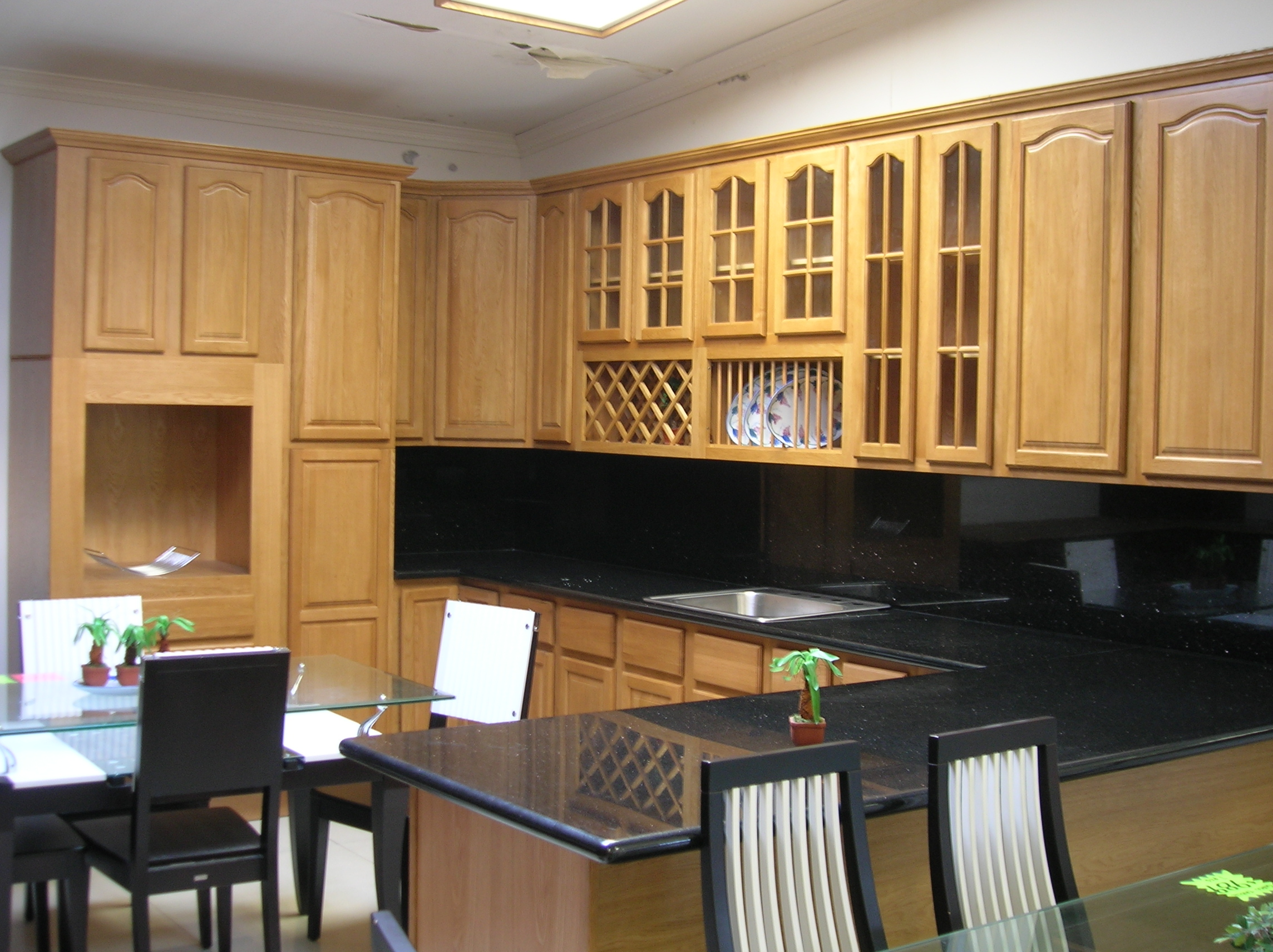 allcabinets cheap cabinets for kitchen Oak Cherry Wholesale Kitchen Cabinets