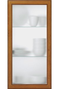Frost Glass Cabinet Insert - Kitchen Craft Cabinetry