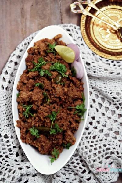 Kheema Fry – Minced Mutton Fry