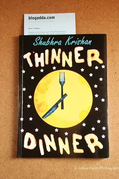 Book Review: Thinner Dinner by Shubhra Krishan
