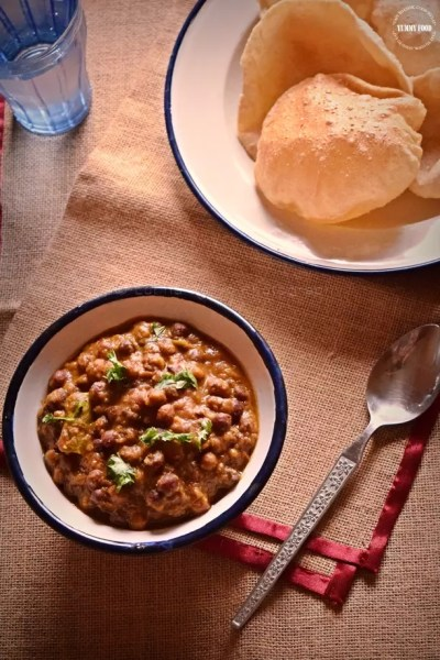 Kala Chana Curry/Black Chickpeas Curry