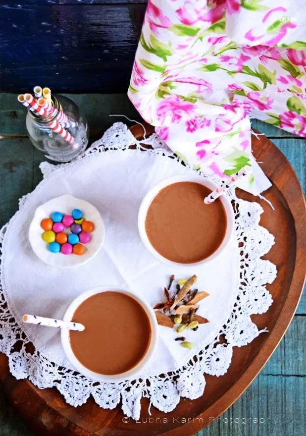 Hot Chocolate Masala Chai