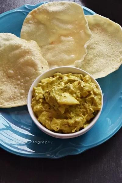 Dosakaya Pachadi – Andhra Yellow Cucumber Chutney