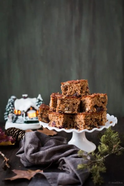 {Guest Post} – Christmas Fruit Cake by Mallika of 'Veg Bowl'