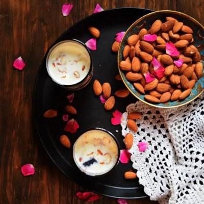 {Ramadan Special} – Badam ka Harira/Traditional Almond Drink