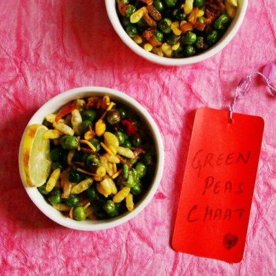 Mutter Chaat – Spicy Green Peas Chaat