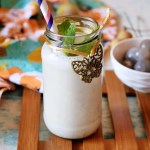 Vegan Tropical Longan Smoothie