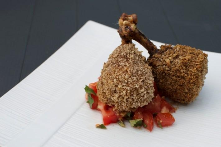 masala chicken drumsticks via kitchen frolic