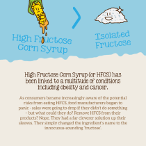 9 foods that have been renamed infographic