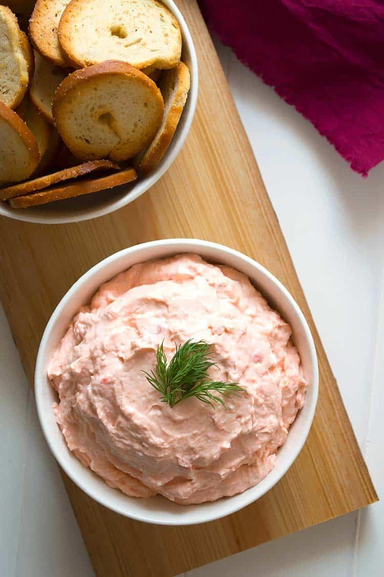 Smoked Salmon Appetizer Dip + KitchenAid Giveaway! - Kitchen Gidget