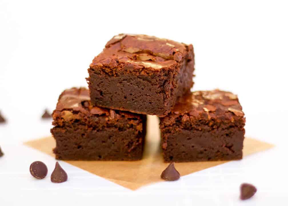 Ultimate Chocolate Brownie | Gooey | Gluten Free | Vegetarian | Gift
