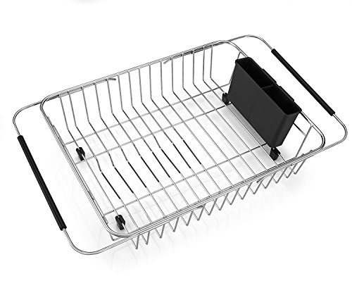 Sanno Expandable Dish Drying Rackover The Sink Adjustable