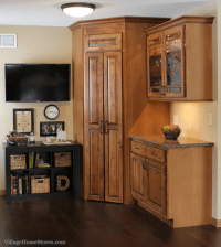 Pantry Cabinet: Kitchen Cabinets Corner Pantry with Corner ...