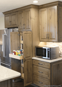 kitchen cabinets cherry stain the interior design. kitchen ...