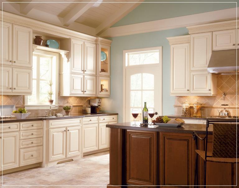 Really pretty kitchen Timberlake cabinets Recipes Pinterest