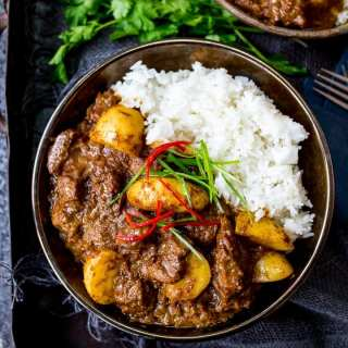 Slow Cooked Beef Massaman Curry