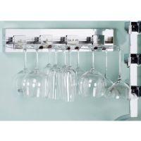 "Wine Rack Accessories - 18"" Wall Mount Stemware Set, Set ..."