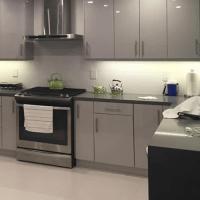 European Style Flat Panel Kitchen Cabinet - Kitchen ...