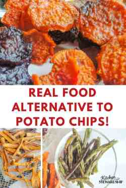 Exciting Veggie Chips A Real Food Alternative To Potato Guacamole Healthy Alternative To Chips Recipes Healthy Alternative To Chips