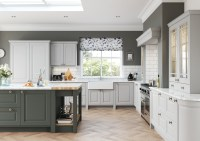 Jefferson Classic Light Grey & Dust Grey | Kitchen Stori