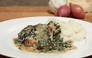Pork Florentine Casserole