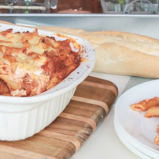 Easy Baked Penne – Lasagna Style